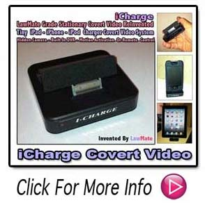 LawMate Icharger Covert Video System