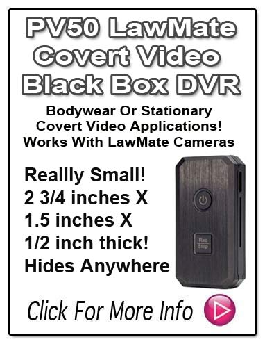PV50 LawMate tiny DVR -Covert Video At It's Best