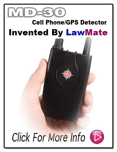 MD30 LawMate Cell Phone GPS Detector