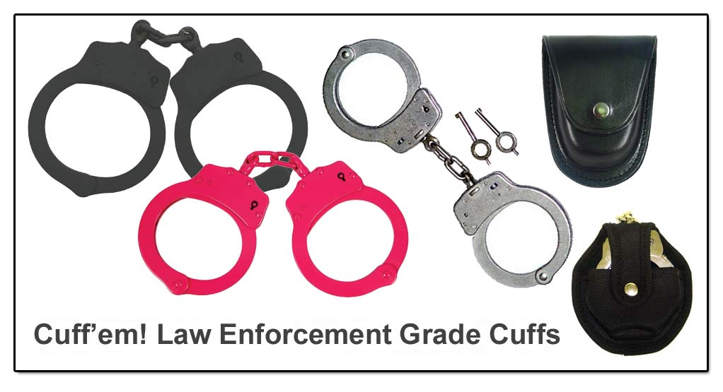 HAND CUFFS AND LEG IRONS