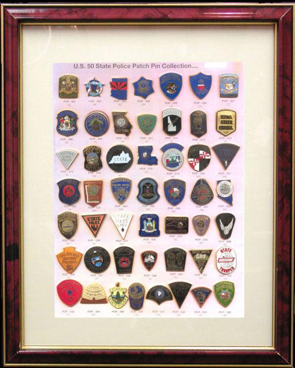 Framed Badge Sets