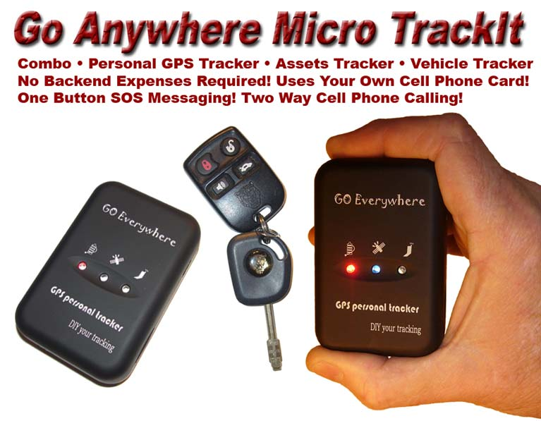Go Anywhere MIicro TrackIt GPS