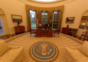 Oval Office Rug On Above Is Photo Of The Great Seal In Oval Office Rug