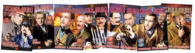 Sherlock Holmes tv Series 1954 Sherlock Holmes Classic tv on