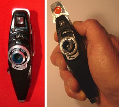 Private Eye Shirt Pocket Camera