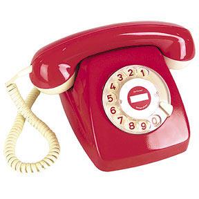 Réplique du téléphone rouge pour la ligne prioritaire entre la Maison Blance et le Kremlin - circa 1960