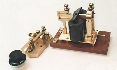 Telegraph Key And Sounder, 1850s, 1860s